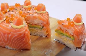 Sushi-Taart