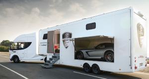 Vrachtwagen-Camper